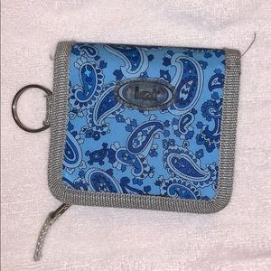 Cute paisley lei wallet